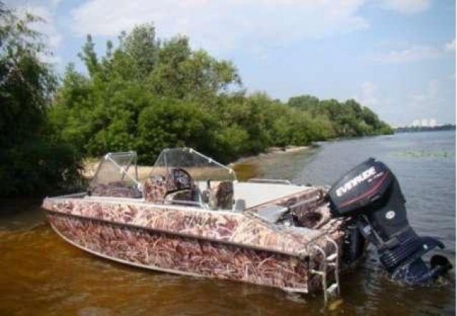 рисунки на лодках фото
