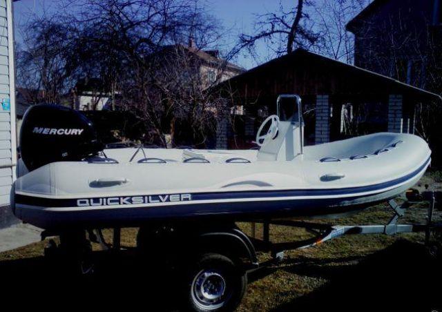 купить лодку квиксильвер 270