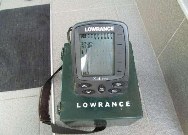 схема эхолота lowrance x-4 pro