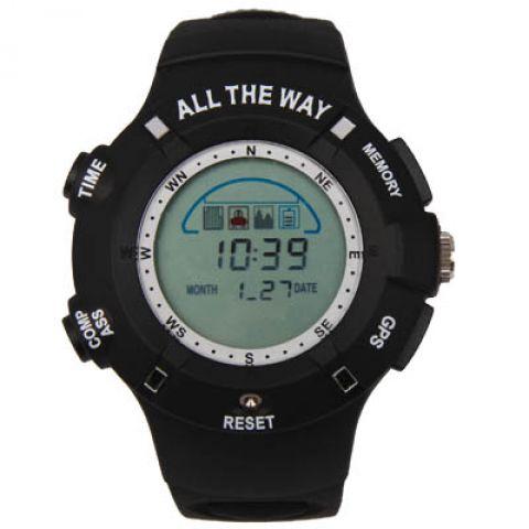 Водонепроницаемые спортивные Часы All The Way с GPS- трекером