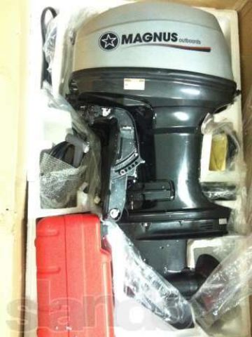 купить подвесной мотор бу 40-60 л.с на авито