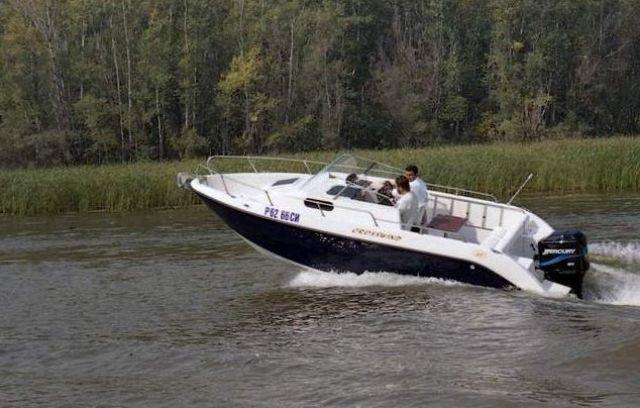 лодка crosswind 170