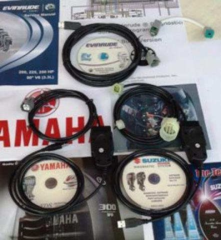 Продам диагностический к-т Yamaha + Evinrude ETEC (Johnson